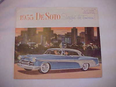 "1955 Full Color, Brochure/Poster for Desoto ""Designed for Tomorrow"""