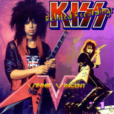 VINNIE VINCENT *DEMOS CD-1 Journey Britny Fox Bulletboys Kix XYZ GLAM METAL KISS