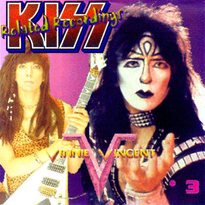 VINNIE VINCENT *DEMOS CD-3 Invasion Britny Fox Bulletboys Kix XYZ GLAM ROCK