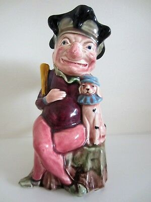 A very collectable Mr.Punch & his dog Toby - Toby Jug - Melba Ware - H Wain &Son