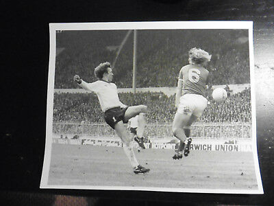 1978 Liverpool Nottingham Forest League Cup Final Press Photo Kenny Burns