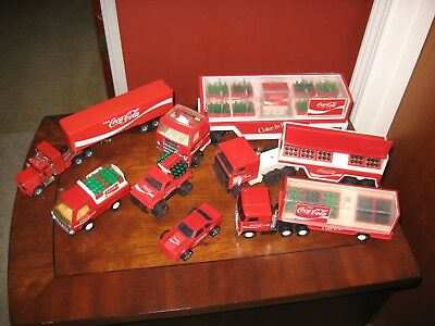 Vintage Coca Cola Toys Lot Of 7 Toys