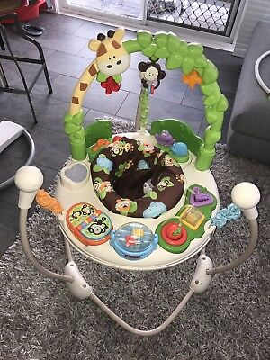 0c41fa622c3b FISHER PRICE GO Wild Jumperoo Jumper Activity Toy -  35.00