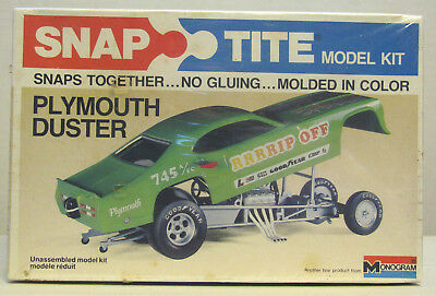 Monogram Snap-Tite.. Plymouth Duster Funny Car
