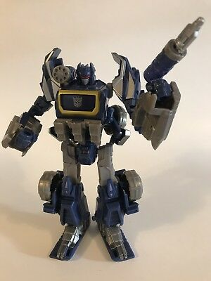 Transformers Generations War For Cybertron SOUNDWAVE WFC 100% COMPLETE LOT NICE!