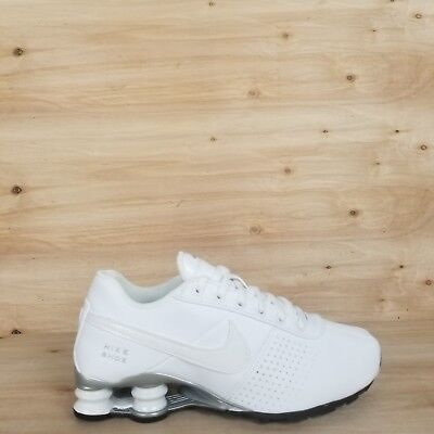 the latest 2ae1d 017a5 Nike Shox Deliver Gs Running Shoes  615981 100  White silver Sz 4.5,