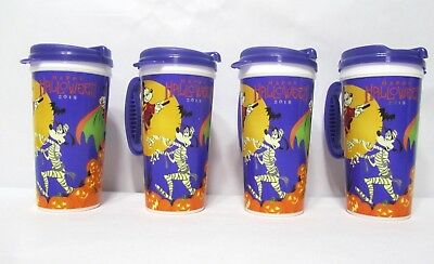 Lot Disney Park 2018 Halloween Vampire Mickey Witch Minnie Travel Coffee Cup Mug