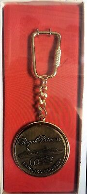Princess Cruise Lines Royal Princess (circa 1984) Keychain ~ NEW