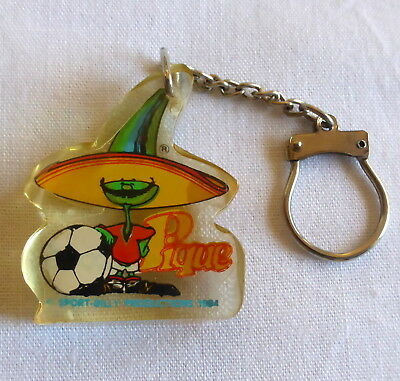 WORLD CUP MUNDIAL MEXICO 1986 keychain key ring PIQUE
