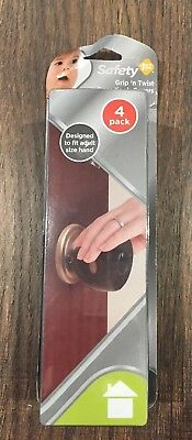 Safety 1st grip'n twist door knob cover, 4pack, Gray, door knob cover, Free ship