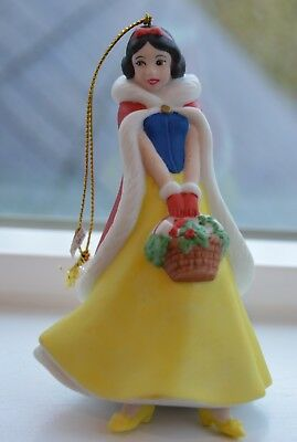 Disney SNOW WHITE Porcelain Christmas Ornament