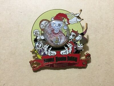 HAUNTED MANSION HOLIDAY 2003 Logo Pin LE 3000 Nightmare Before Christmas