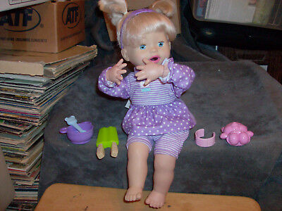 2010 Fisher Price Little Mommy Baby Doll Lot Tested