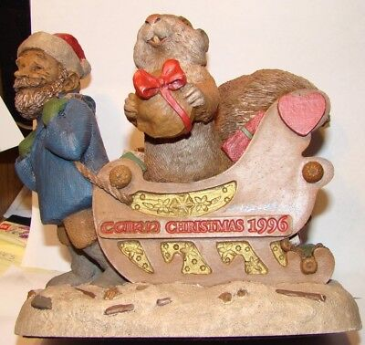 """ Christmas 1996""  signed by Tom Clark rom cairn"