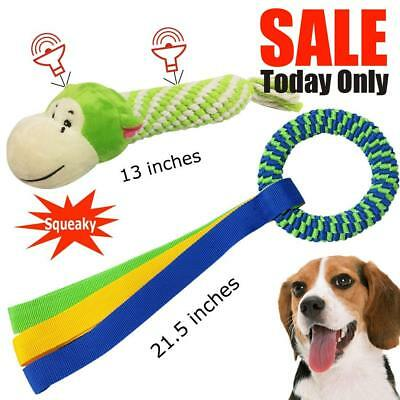 Dog Toys for Small Dogs,Large Puppy Chew Toys,Durable Cotton Rope Ball Set For M
