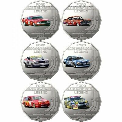 In stock - 2018 Ford Motorsport Seven-Coin Collection