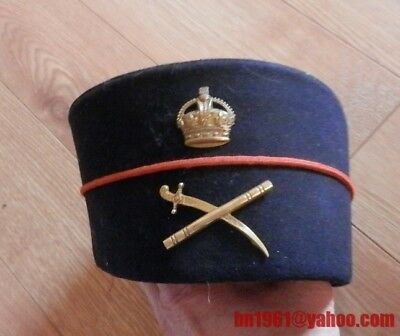 WW2 British General pillbox cap