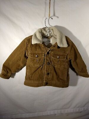 b70e1d4416a BOYS OLD NAVY sherpa lined fleece shirt jacket size 18 XXL excellent ...