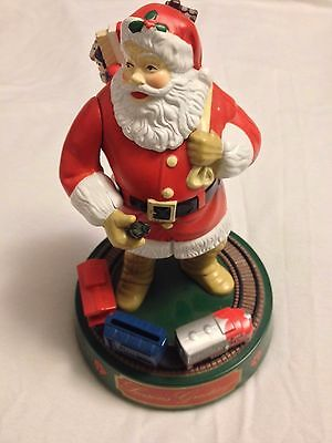 Coca Cola Santa Claus Mechanical Bank from ERTL 1st in series