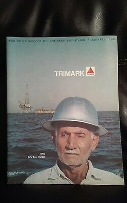 Vintage 1966 Citgo Gas and Oul Trimark Pamphlet for Cities  Oil Co Employees