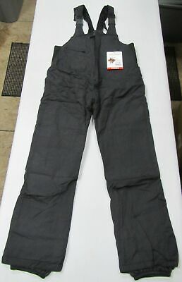 Men's Turbine (Trbn) Basic Insulated Winter Ski Snow Bib Pants (Black) M 32-35""