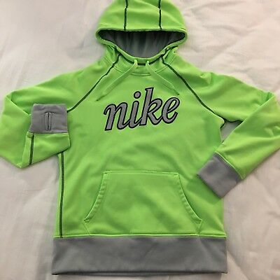 61ab082486a6 Nike Therma Fit Sweatshirt All Time Script Hoodie Women s Medium