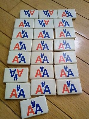 American Airlines vintage miniature soaps, lot of 22