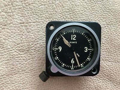 Aircraft Airplane Clock Le Coultre LeCoultre Complete and Working Experimental