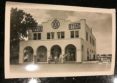 Vintage 101 Ranch Store Oklahoma by Norman Moore 1939 Photo Postcard