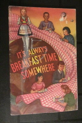 National Dairy Council - It's Always Breakfast Time Somewhere - 1965 Booklet
