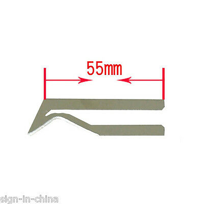 55mm R-shape Blade of Electric Hand Held Hot Knife for PVC/ Nylon/ Plastic Rope