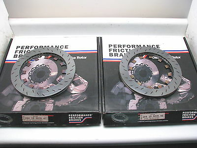 Performance Friction 284.19.0035.47 & 48 PFC ZR24 Rear caliper Burnished Slotted