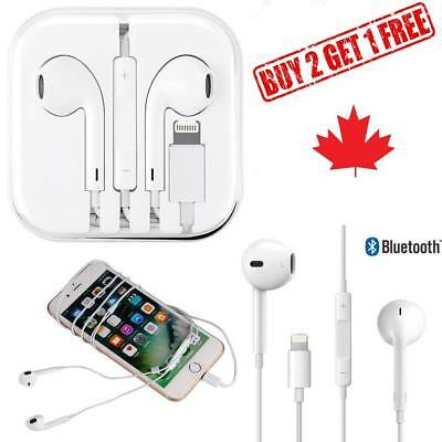 LIGHTNING Earphones Earbuds for Apple iPhone 7, 8, X  plus With Mic and volume