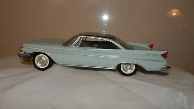 Vtg 1960 Desoto Adventure Dealer Promo 1.25 Scale Johan Usa Friction Wheels (#27