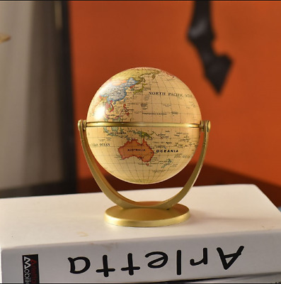 360?? Rotating Globes Earth Ocean Globe World Geography Map Desktop Decoration