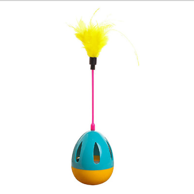 Cat Rotating Toys Electric  New Pet Scratch Toy Teaser Kitten Play Rod