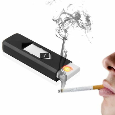 USA USB Electronic Rechargeable Battery Flameless Cigar Cigarette Lighter NEW