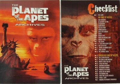 1999 PLANET of The APE S ARCHIVES Trading Card Set of 90 INKWORKS original