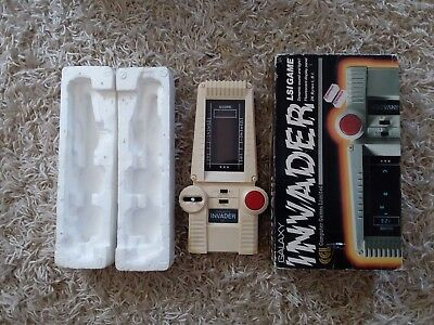 galaxy invaders vintage hand held electronic game
