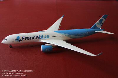 JC Wing French Blue Airbus A350-900 in New Color Model 1:200