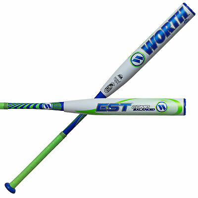 Worth EST 12.5 Inch Balanced USSSA W125EB Slowpitch Softball Bat - 34/27