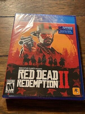 Red Dead Redemption II PS4 Unopened