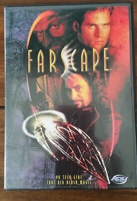 "Farscape ""PK Tech Girl, That Old Black Magic""  Sci Fi DVD"