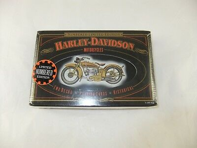 HARLEY DAVIDSON Limited Edition Playing Cards in 1997 NIB