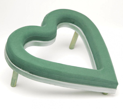 2 X OASIS ECObase OPEN HEART - PACK OF 2 (37.5cm x 38cm x 4.5cm)
