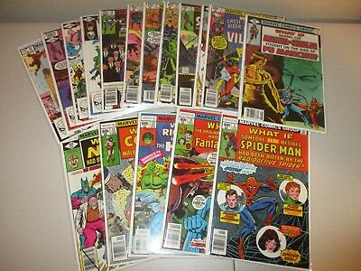 What If #7-35 (Not complete Lot of 17, Marvel Comics 1977 Series) Ave FN+ #11 30
