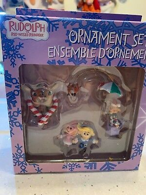 NEW  Box Rudolph the Red Nose Reindeer 3 Piece Ornament Set American Greetings