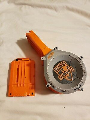 Nerf N Strike Elite 25 Round Ammo Drum Magazine Dart Clip Replacement Fast Ship