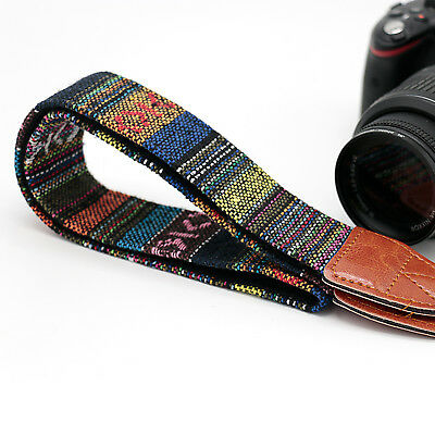 Universal Vintage Camera Shoulder Neck Belt Strap For Canon Nikon Sony DSLR #7