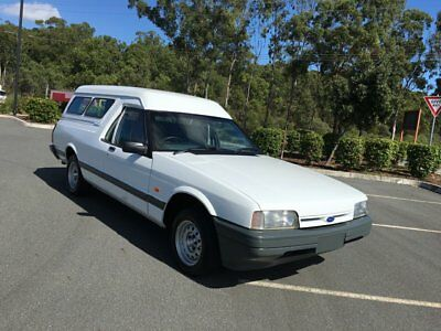 1995 Ford Falcon XG Panel Van Longreach White Automatic 4sp A Panel Van